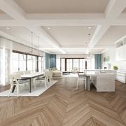 Nowoczesny salon 3d model