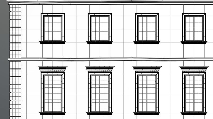 Neoclassical Building royalty-free 3d model - Preview no. 27