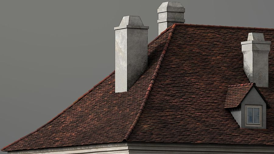 Neoclassical Building royalty-free 3d model - Preview no. 11