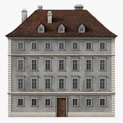 Edifício neoclássico 3d model