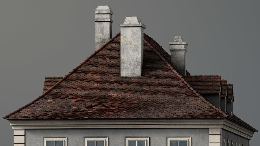 Neoclassical Building royalty-free 3d model - Preview no. 7