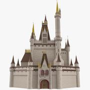 Castle 02 3D Model 3d model