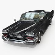 克莱斯勒300 C 1957 3d model