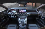 Wnętrze Mercedes AMG gt 63s 3d model