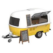 Food trailer 3D model 3d model