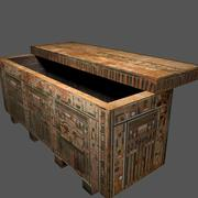 Egyptian Coffin 3d model