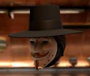 Guy Fawkes Mask 3d model