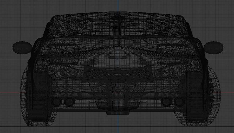 Bruwler Coldera (Luxury Car) royalty-free 3d model - Preview no. 6