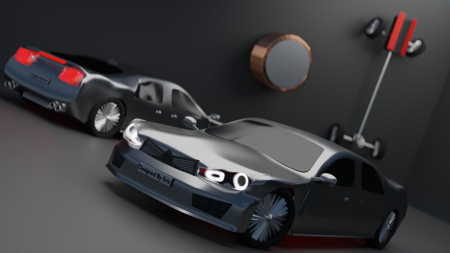 Bruwler Coldera (Luxury Car) royalty-free 3d model - Preview no. 1