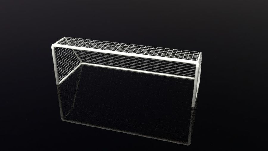 Football/Soccer Goal royalty-free 3d model - Preview no. 14