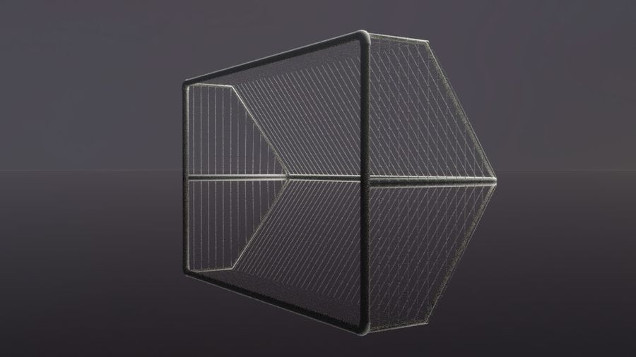 Football/Soccer Goal royalty-free 3d model - Preview no. 13