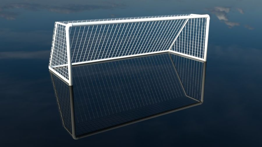 Football/Soccer Goal royalty-free 3d model - Preview no. 2