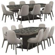 Ditre Italia LINEAR椅子 3d model