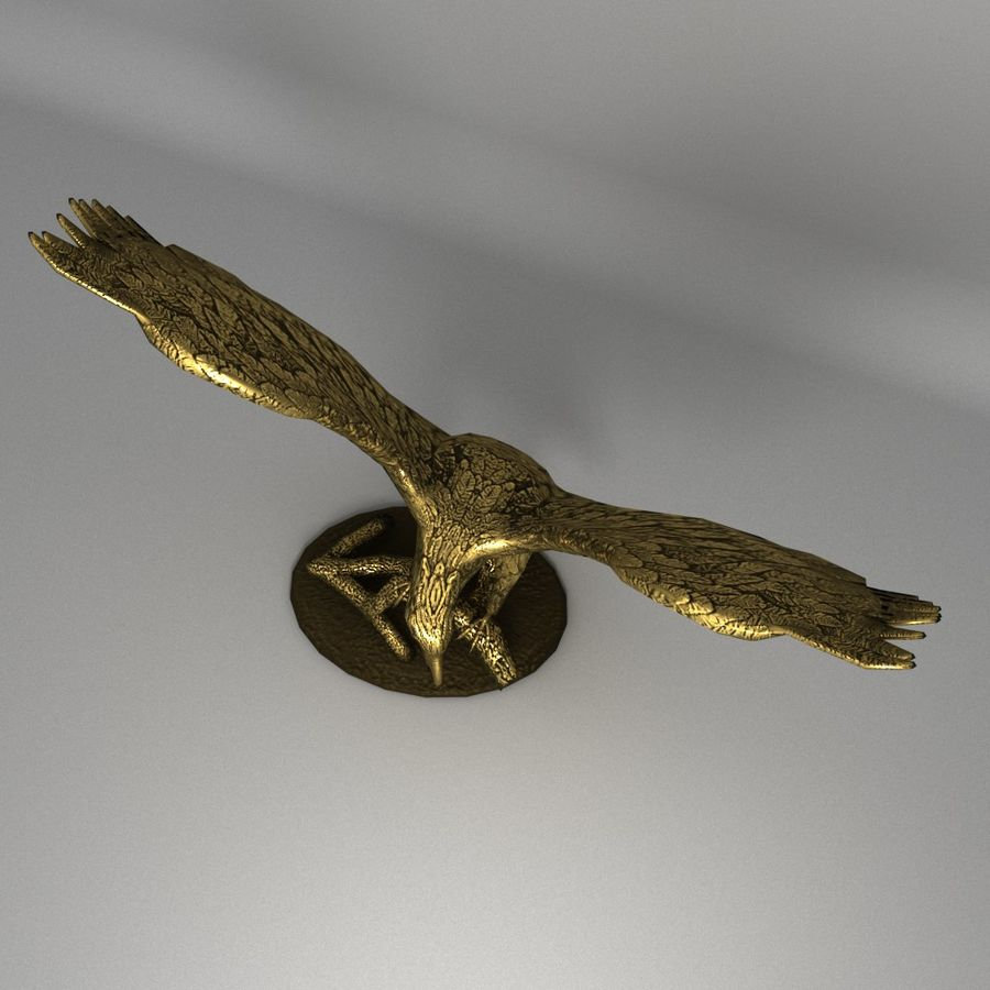 Águila royalty-free modelo 3d - Preview no. 3