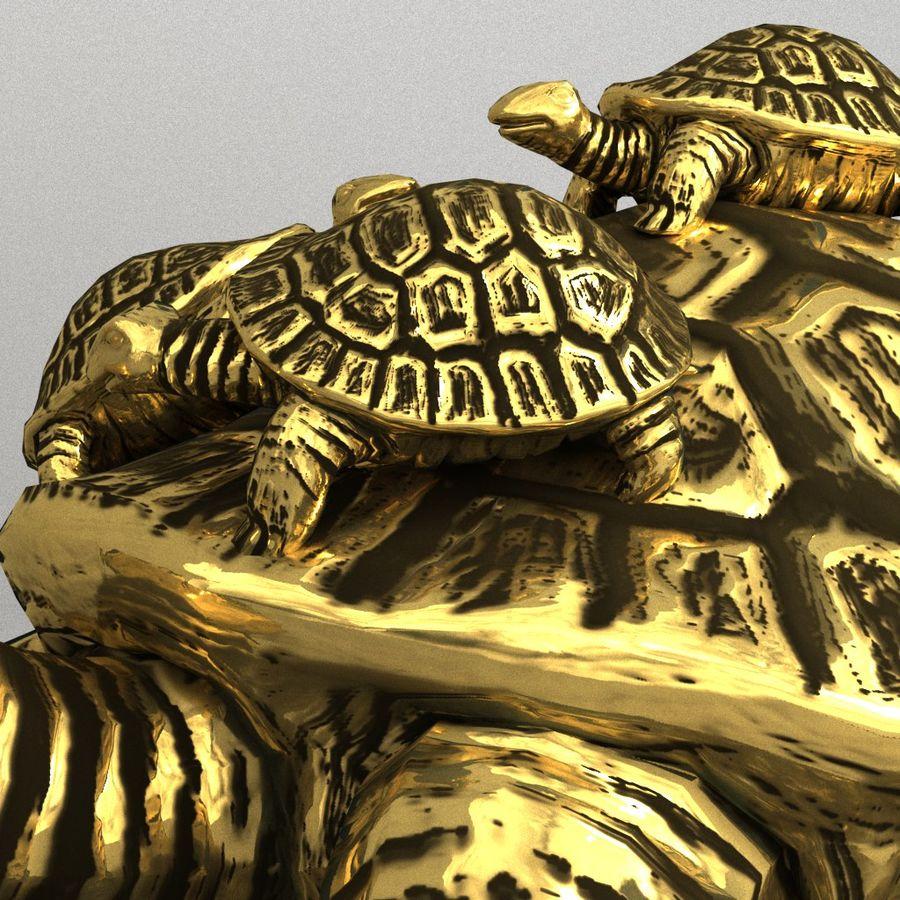 żółw royalty-free 3d model - Preview no. 4