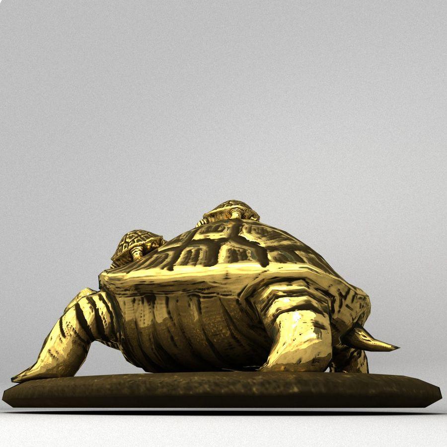żółw royalty-free 3d model - Preview no. 2