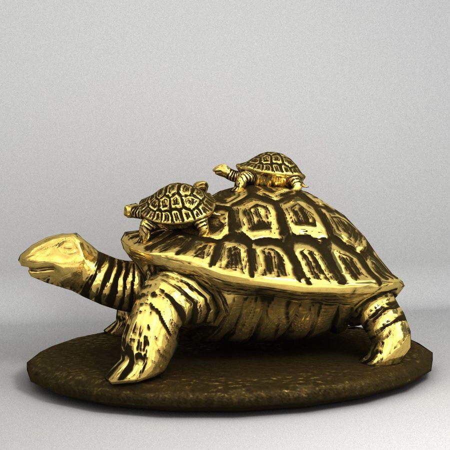 żółw royalty-free 3d model - Preview no. 1