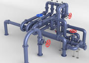 Pipe Assembly Pack 3d model