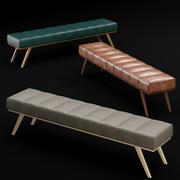 床板凳2 3d model