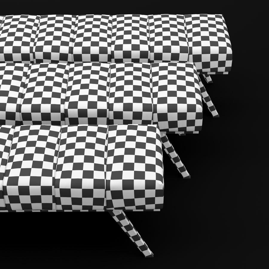 Скамья 2 royalty-free 3d model - Preview no. 5