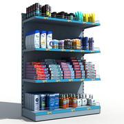 Supermarkt schappen persoonlijke hygiëne 3d model
