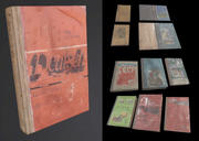 Livres scolaires URSS 3d model