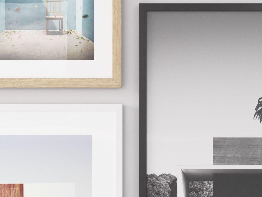 Fotolijsten Architectuur royalty-free 3d model - Preview no. 5