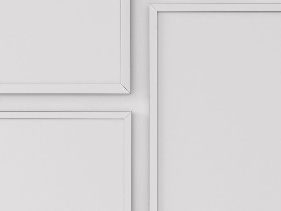 Fotolijsten Architectuur royalty-free 3d model - Preview no. 6