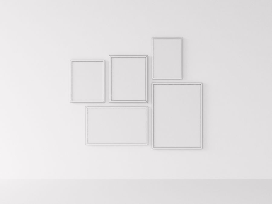 Fotolijsten Architectuur royalty-free 3d model - Preview no. 2