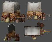 Wagon 3D模型 3d model