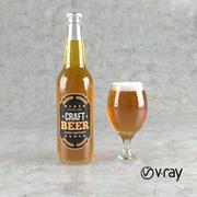 Piwo rzemieślnicze 3d model