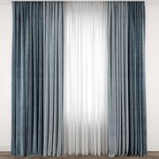 Curtain 92 3d model