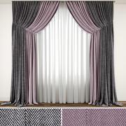 Curtain 95 3d model