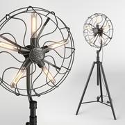 플로어 램프 Dialma Brown 3d model