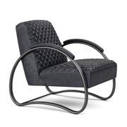 扶手椅Dialma棕色 3d model