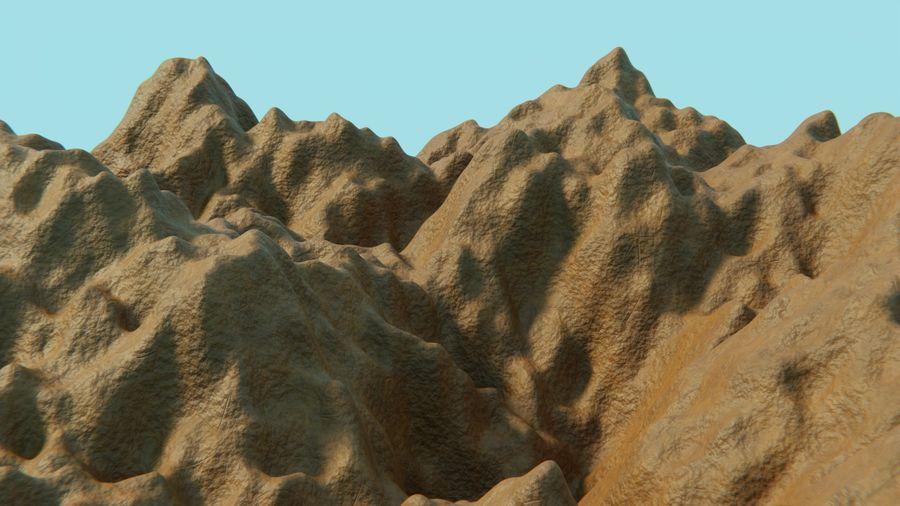 campo de hierba royalty-free modelo 3d - Preview no. 9
