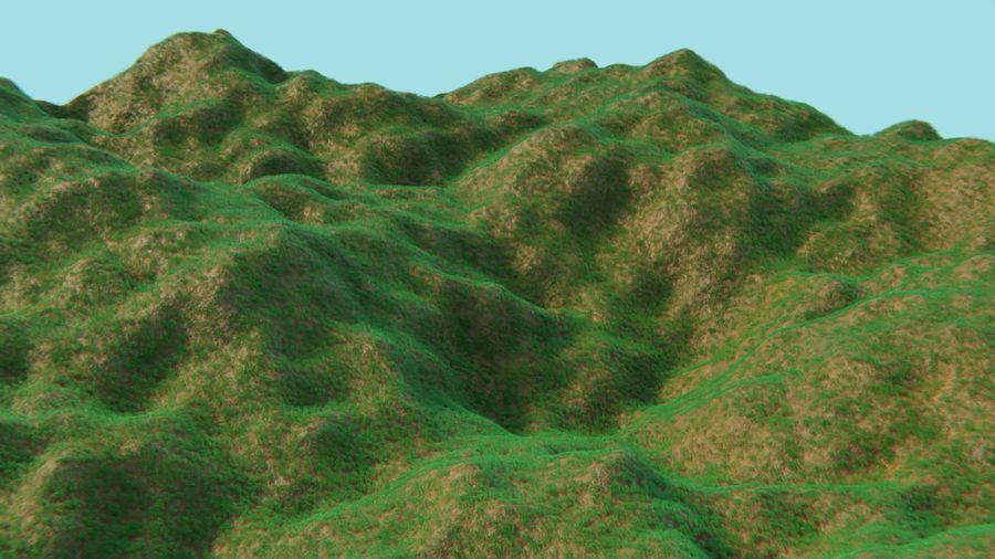 campo de hierba royalty-free modelo 3d - Preview no. 22