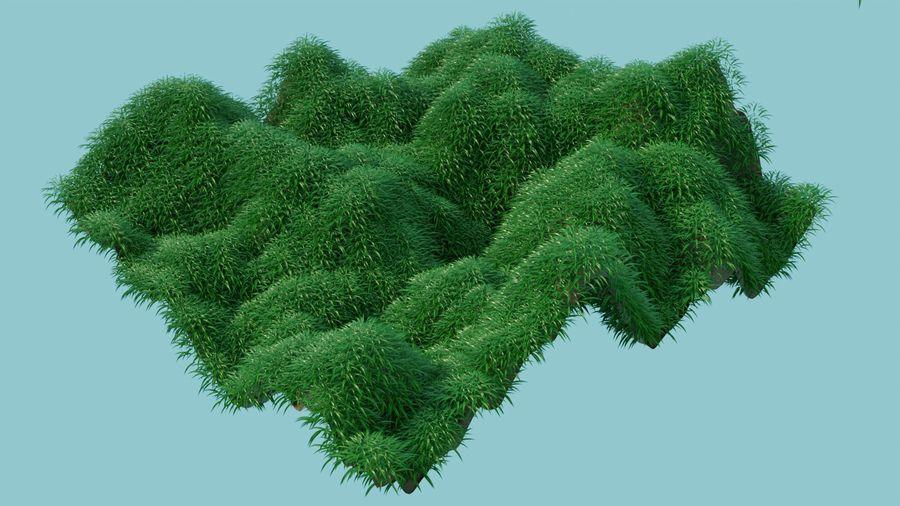 campo de hierba royalty-free modelo 3d - Preview no. 2