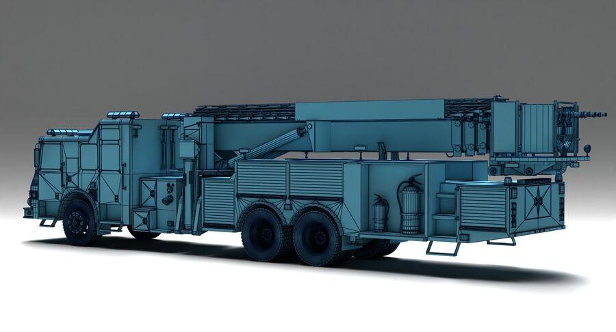 消防车 royalty-free 3d model - Preview no. 10