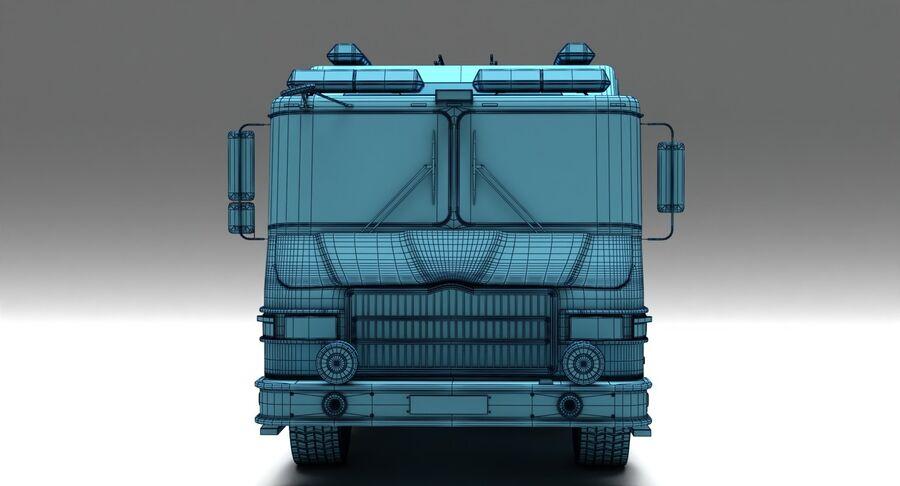 消防车 royalty-free 3d model - Preview no. 8