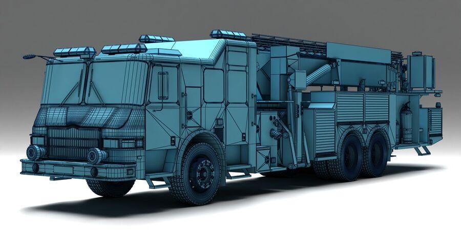 消防车 royalty-free 3d model - Preview no. 9