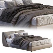 Alivar bed LAGOON 3d model