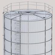 Silo for grain 3d model
