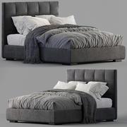 Meridiani Bed Bardo 3d model