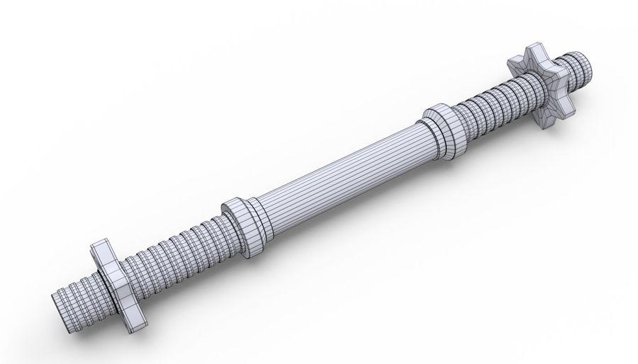Hantelgewicht im Fitnessstudio royalty-free 3d model - Preview no. 21