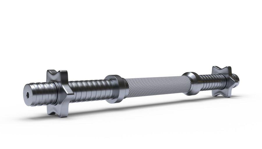 Hantelgewicht im Fitnessstudio royalty-free 3d model - Preview no. 6