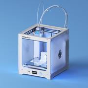 Bobinas de filamento Ultimaker 3 + modelo 3d