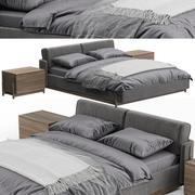 Aschenbett von Zegen 3d model