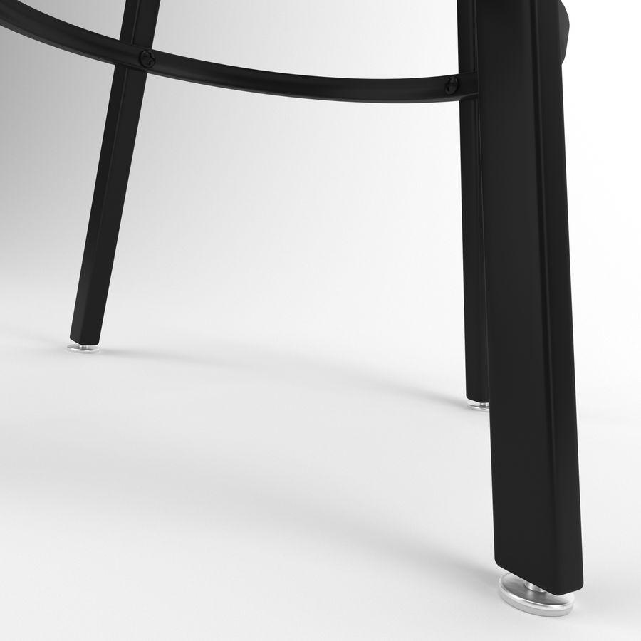 Barkruk + tafel royalty-free 3d model - Preview no. 5