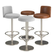 Sayer Swivel Stool 3d model